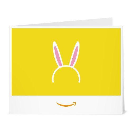Amazon gift card print bunny ears check this awesome product amazon gift card print bunny ears check this awesome product by going to negle Gallery