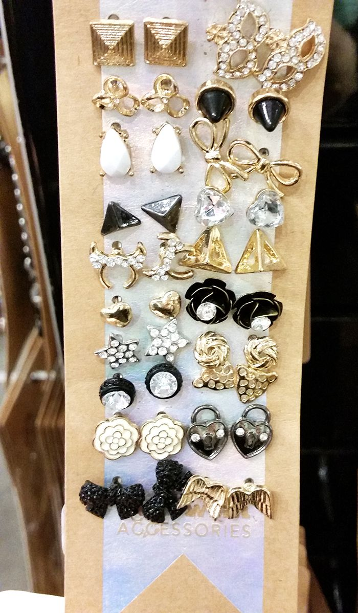 20 pairs of earings, Tally Weijl