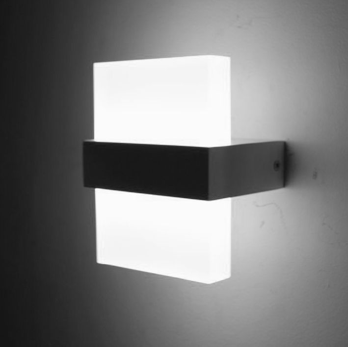 Modern 6w led wall light bedroom bedside lamp luminaria led wall modern 6w led wall light bedroom bedside lamp luminaria led wall lights for home led stair aloadofball Image collections