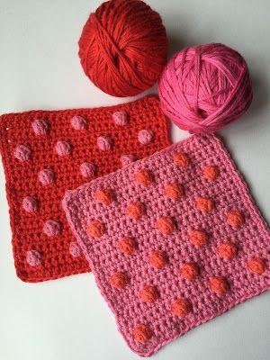 Bobble Stitch Baby Blanket Inspiration Crochet Cray Pinterest