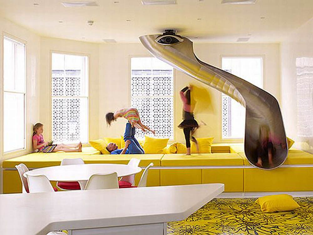Decorative Floors Fit So Well In This Funky Home Interior Is The Rainbow House By Ab Rogers Design A Truly Magical With Fun Features Like Co