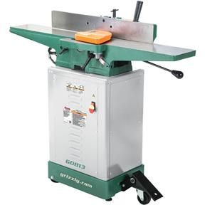 Shop Fox Vs Grizzly Jointer