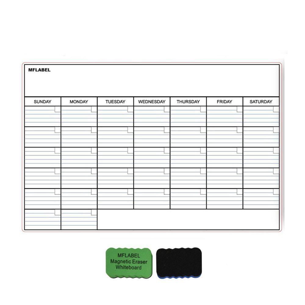 Magnetic Monthly Calendar For Refrigerator : Magnetic refrigerator calendar magnetic calendar refrigerator