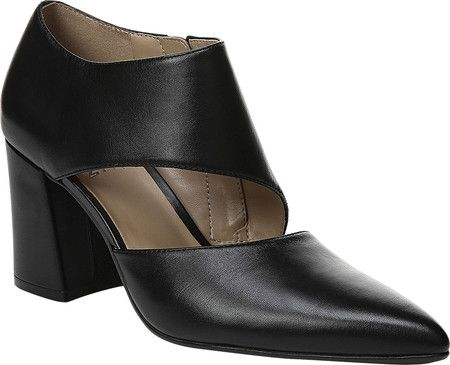 fe6b368d4a Women's Naturalizer Hoda Heel - Black Leather with FREE Shipping & Exchanges.  The Naturalizer Hoda Heel gives you the confidence you need to rule the day  ...