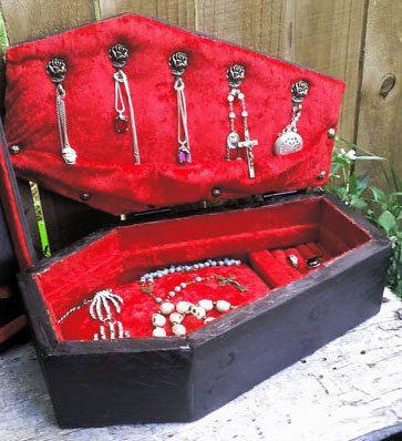 COFFIN JEWELRY BOX Coffin Jewelry Box Coffin Box Jewelry Box