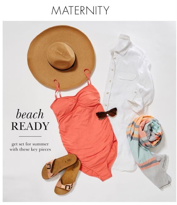 Pregnant and off on holiday? Get set for summer with this gorgeous beachwear getup!