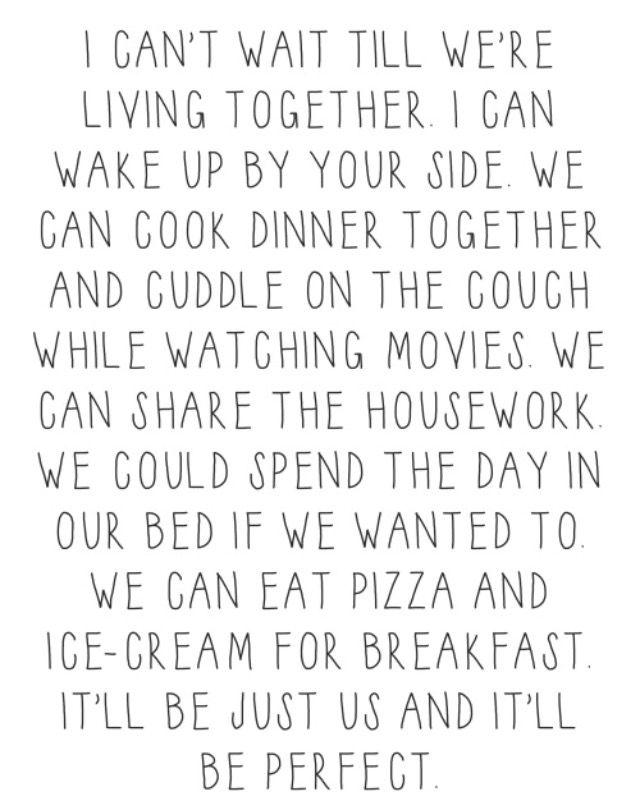 I Cant Wait Until Were Living Together Inspiration Board
