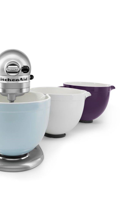 This ceramic mixing bowl from KitchenAid will make your KitchenAid ...