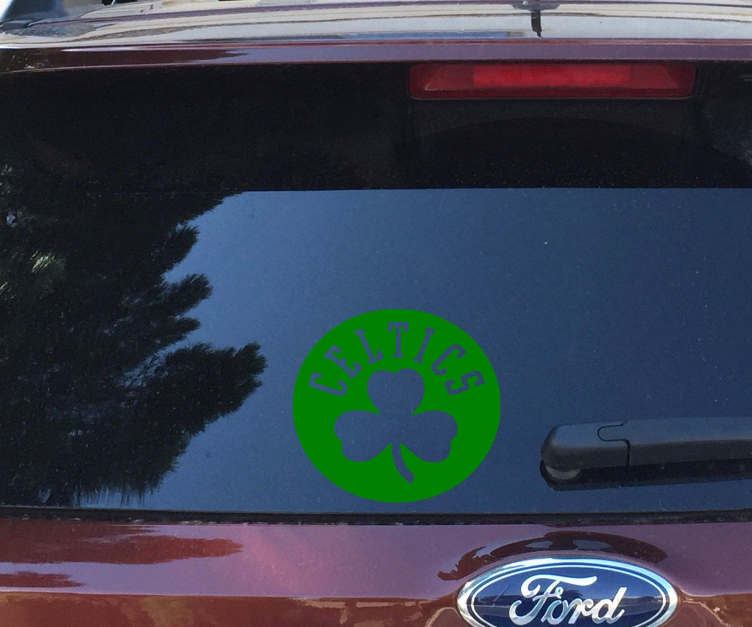 Boston CelticsShamrockBasketballCoffee MugDecalDisney - Custom vinyl decals boston