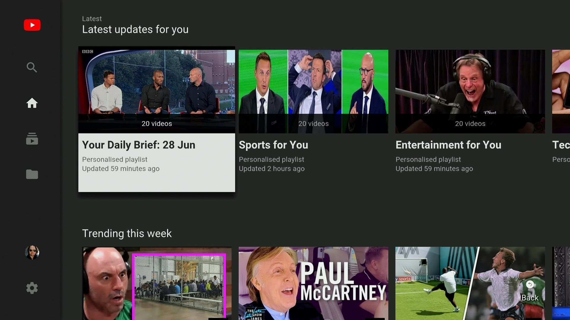Youtube For Android Tv Now Resumes Playback After Switching Apps
