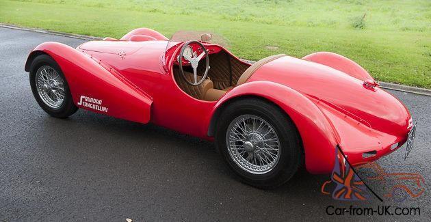 Stanguellini Barchetta 1100 cc Ferrari Red 1954