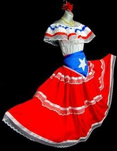 7d9b6e9f65f puerto rican dresses - Google Search