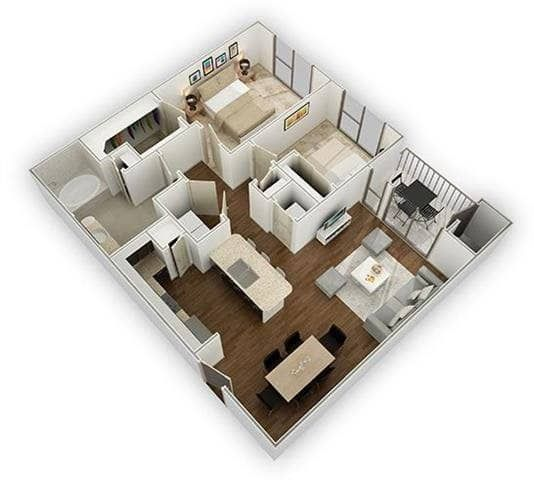 Two Bedroom Apartment Rental (With Images)