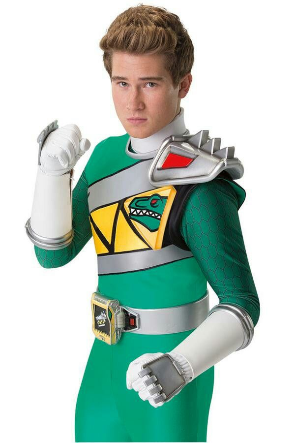 Riley green Dino charge power Rangers | hair | Power rangers 2016