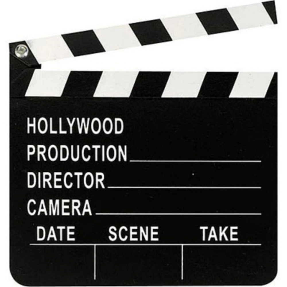 Hollywood Movie Clapboard 7in X 8in Hollywood Party Theme Hollywood Hollywood Theme
