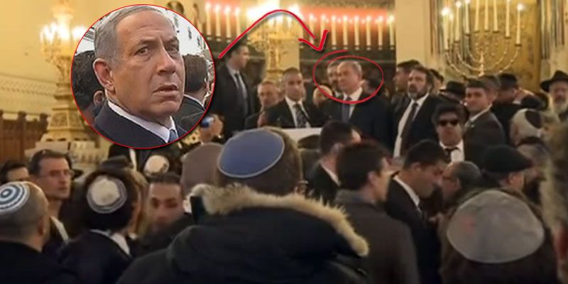 Israeli pm invites french jews to move to israel he didn