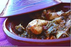 Photo of Panza & Presence: Spicy chicken tajine with leeks and ca …