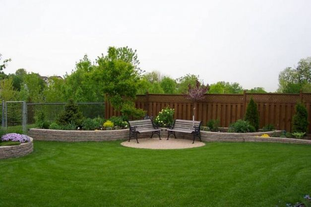 Outdoor Good Backyard Ideas On A Budget Large Landscaping Ideas Backyard Large Backyard Landscaping Backyard Landscaping Designs Small Backyard Landscaping