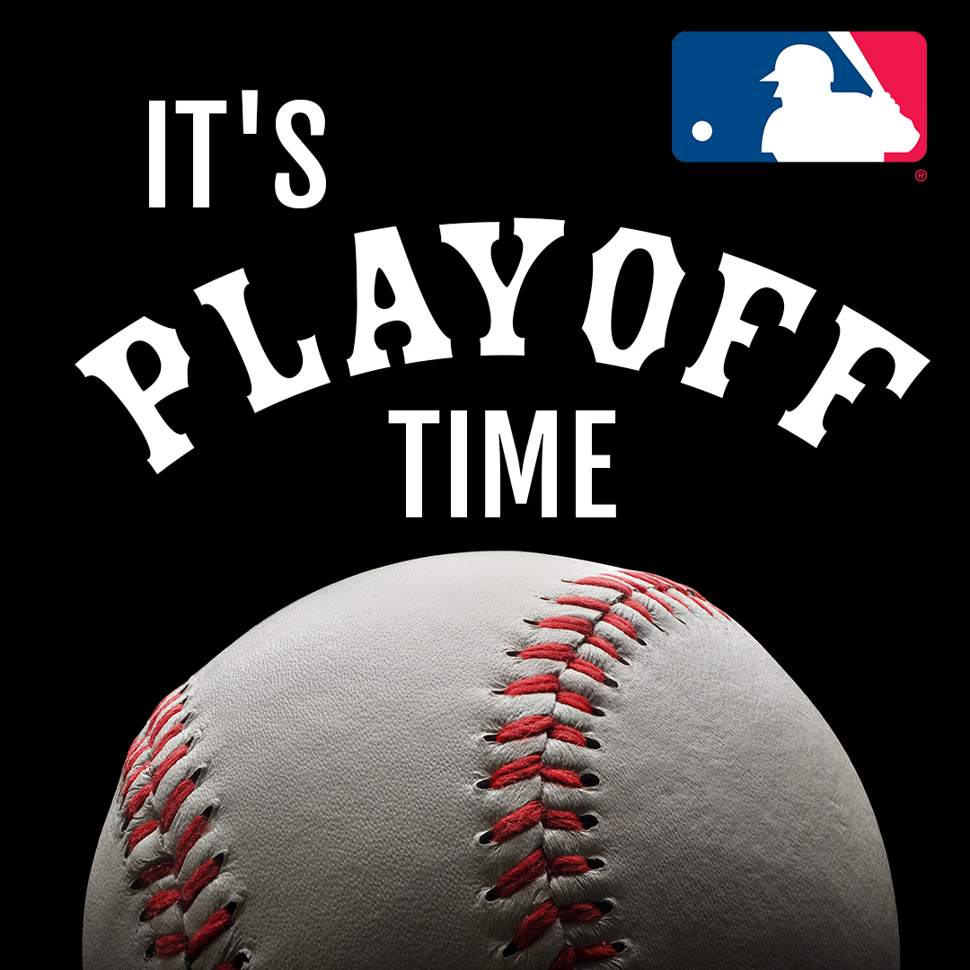 The Teams Are Set So Let The Playoffs Begin Logoart Carries A Full Line Of Officially Licensed Mlb Merchandise To Suppor Baseball Playoffs Baseball Prospects
