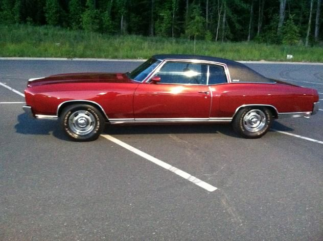 Autotrader Classics 1972 Chevrolet Monte Carlo Coupe Burgundy 8 Cylinder Automatic 2 Wheel Drive American Autotrader Chevrolet Monte Carlo Trucks For Sale
