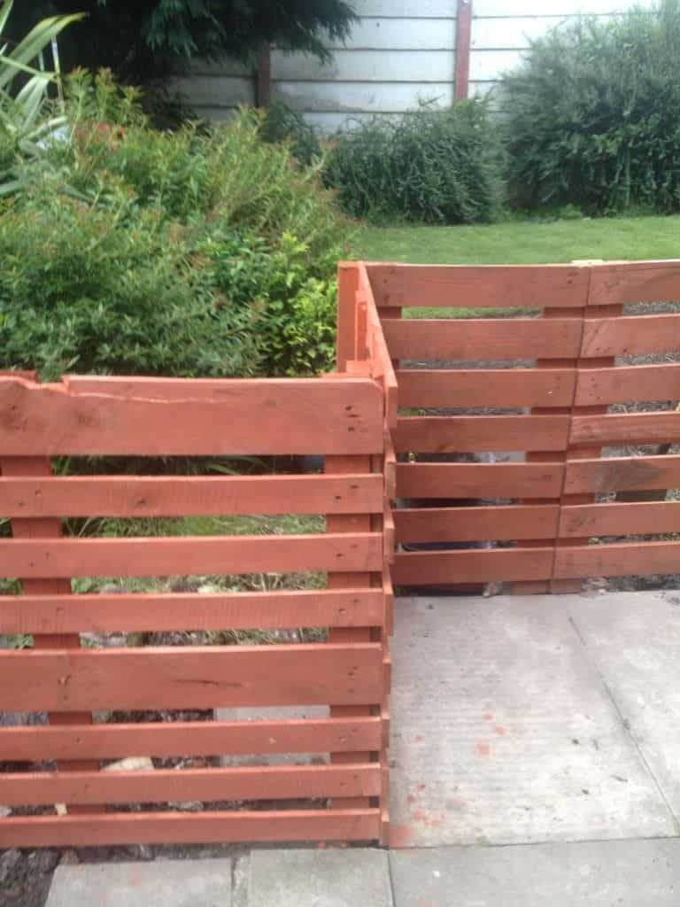 pallet fence instructions