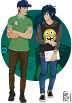 Disney University - Hiro and Tadashi by Hyung86