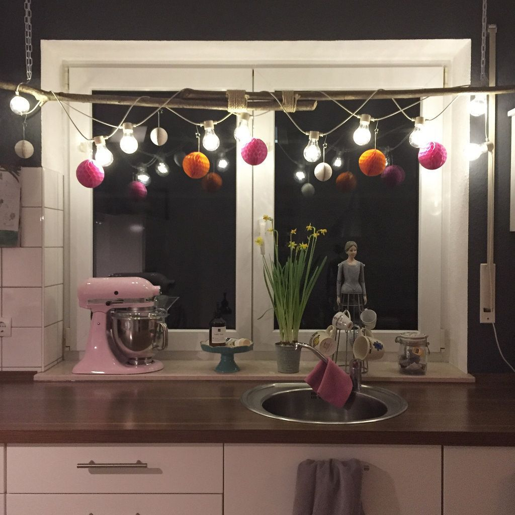 Wochen gl ck r ckblick 300116 einrichtung deko - Fensterbeleuchtung weihnachten ...