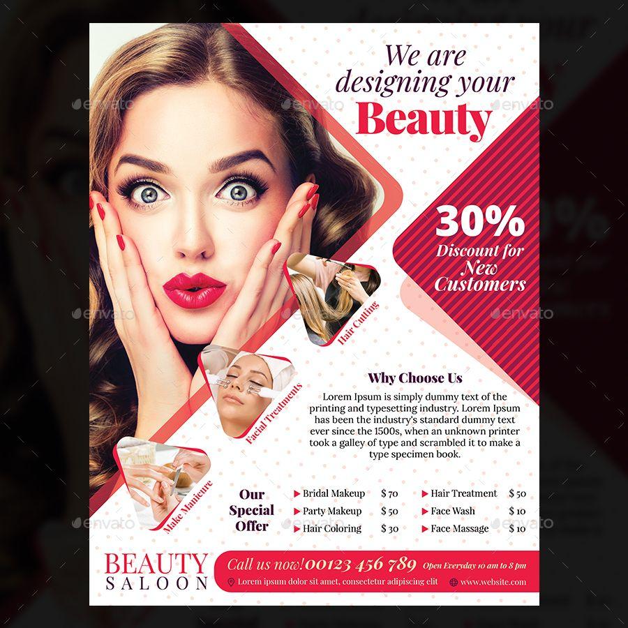beauty salon flyer  beauty   salon   flyer