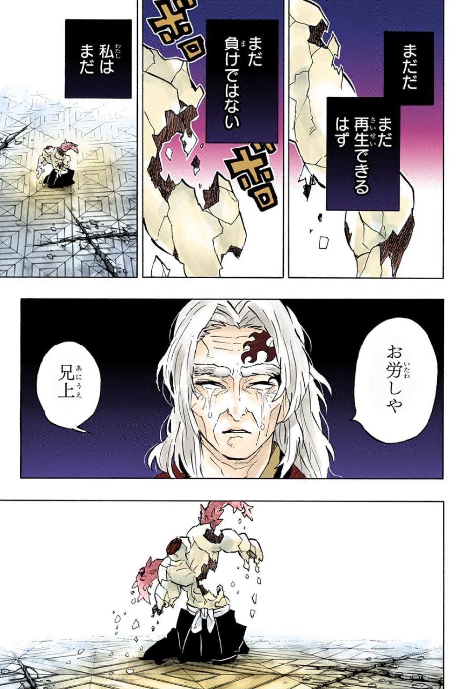 漫画 鬼滅の刃 176話 raw 日本語 カラー版 manga kimetsu no yaiba 176 手イラスト ドラゴンボール 漫画 癒し アニメ