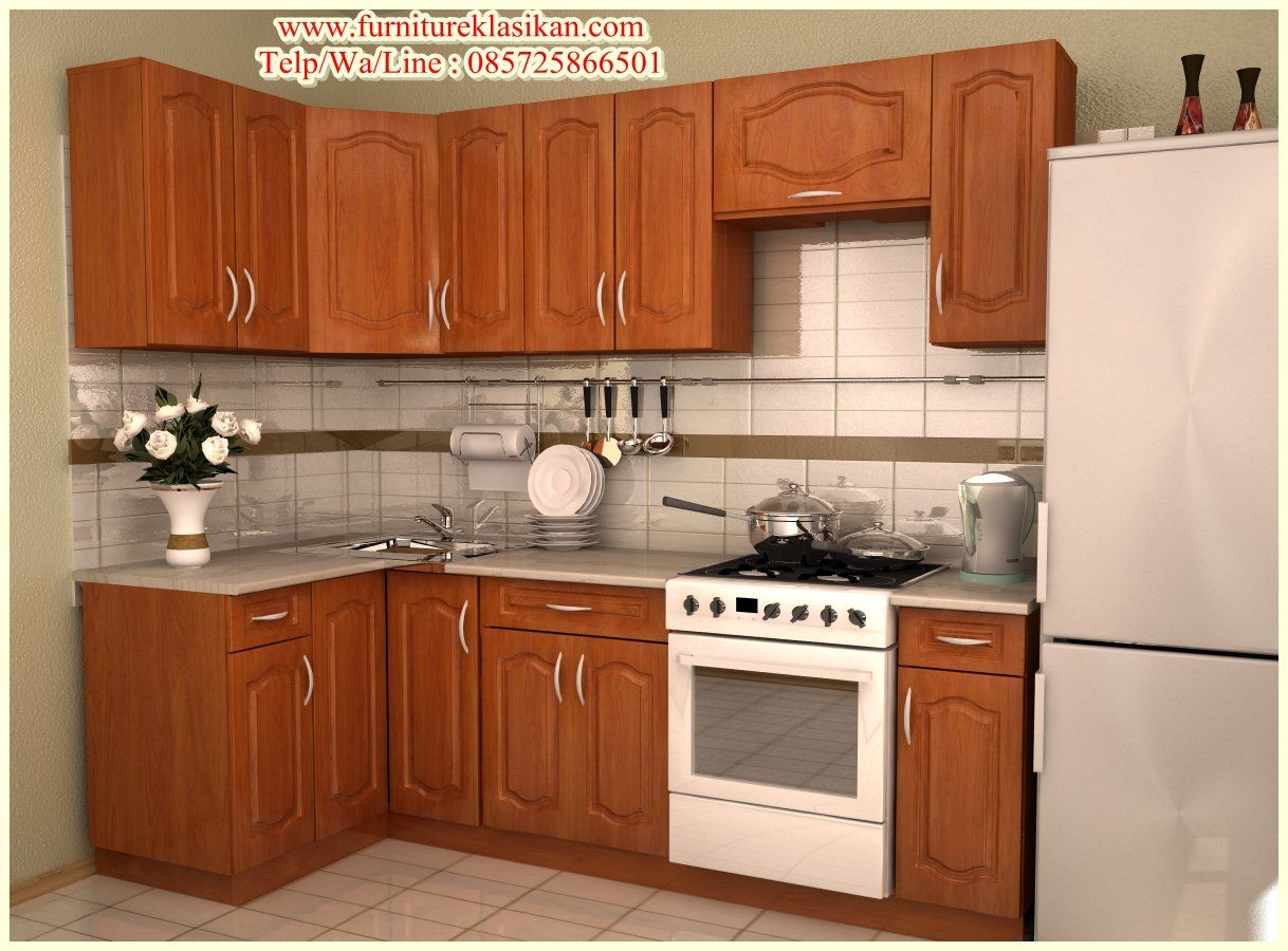 Desain kitchen set jati minimalis deskripsi produk kitchen set jati minimalis gambar kitchen set