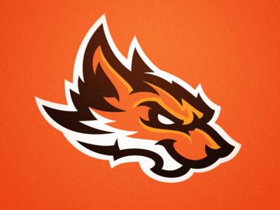 Foxy Animal Logo Sports Logo Inspiration Game Logo Design