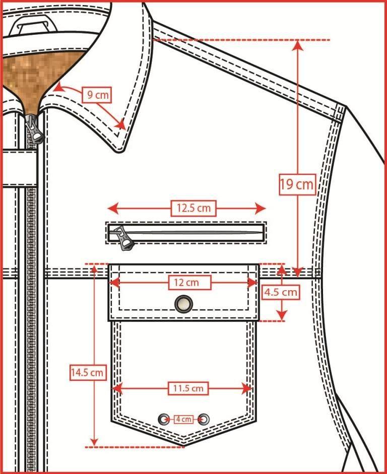 Chest Pocket | Trazos | Pinterest | Costura, Patrones de costura y Ropa