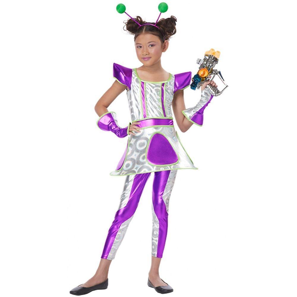 cosmic cutie costume kids alien space girl martian halloween fancy