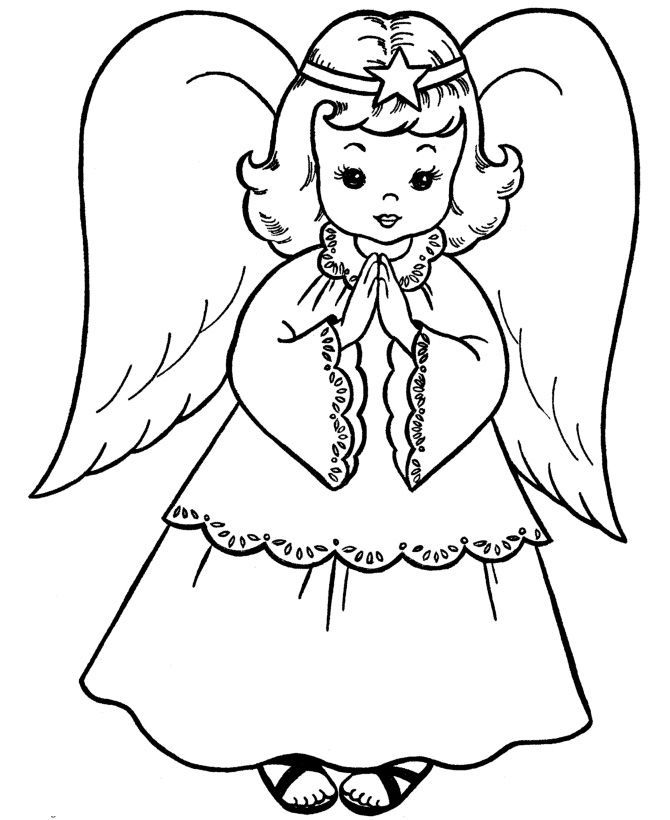 Christmas Coloring Page For Kids Christmas Coloring Sheets Nativity Coloring Pages Angel Coloring Pages
