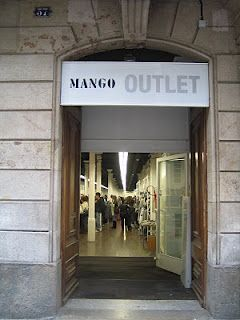 mango outlet c/ Girona 37 (between carrer de casp and gran via de ...