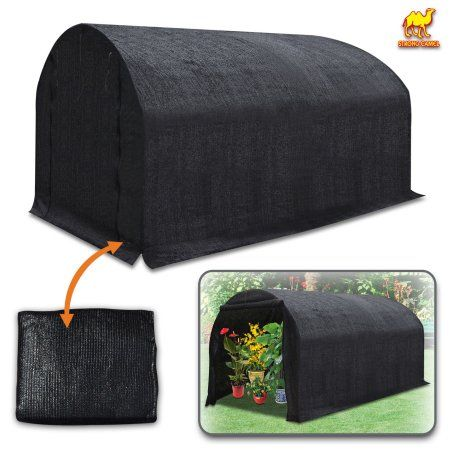 Strong Camel 80% Sunblock Shade Cloth Sun Net Sun Mesh Shade Plant Cover for Greenhouse Gardening for plant cover For Greenhouse Flowers, Plants, Patio Lawn (12' x 7' x 7') Frame not included - Walmart.com