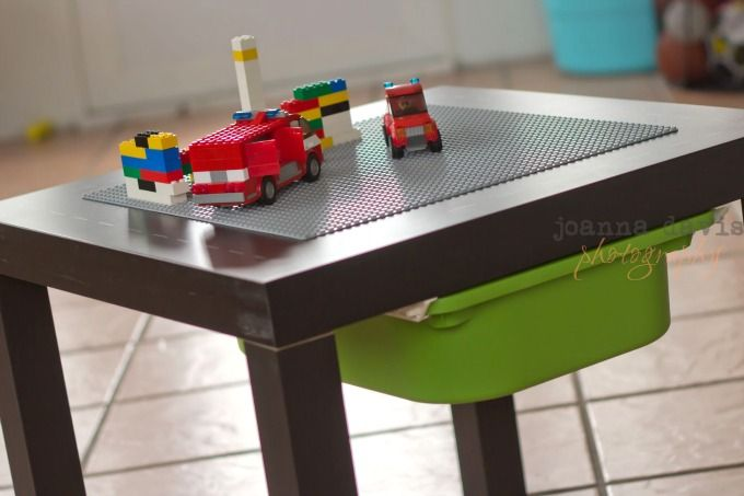 5 Awesome DIY Lego Tables | Lego, Ikea lack table and Lack table