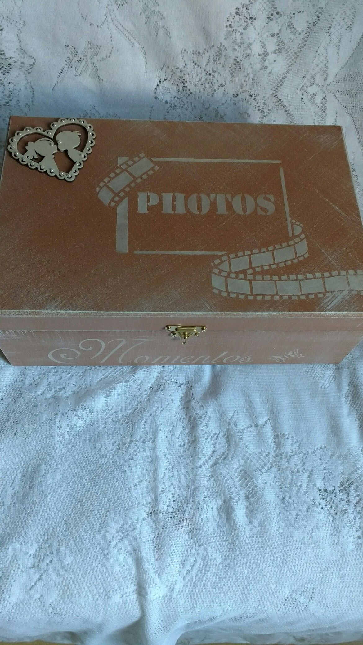 Caixa de fotos