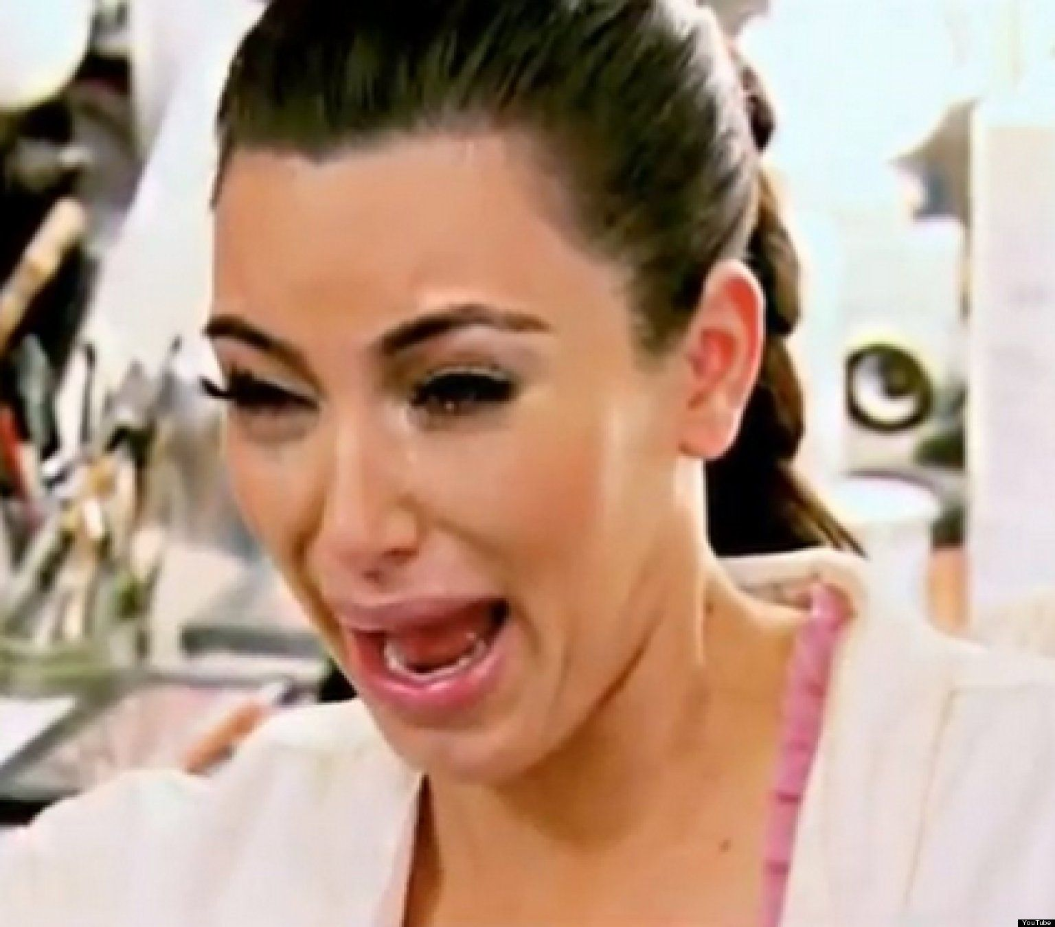 kim crying face meme