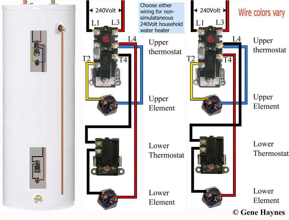 16 ao smith electric water heater wiring diagram  water