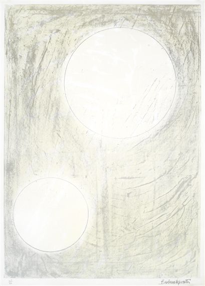 Barbara Hepworth, Sun and water, from the Aegean Suite