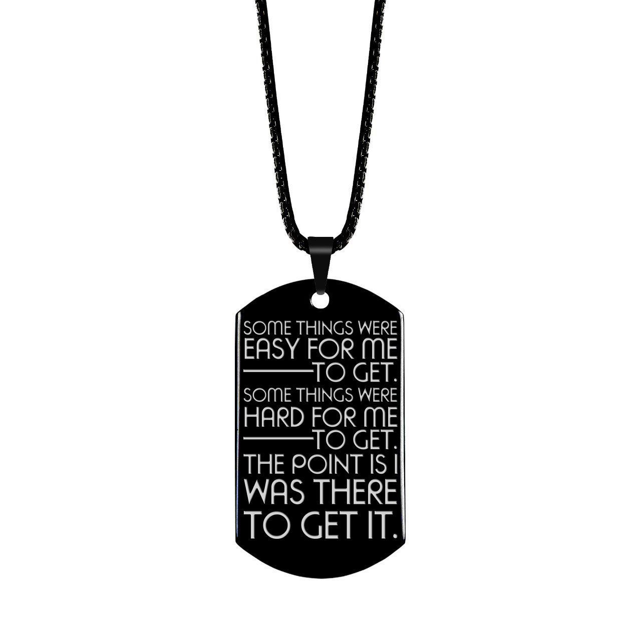 Inspiration Quote Jewelry Motivational Quote Dog Tag  Etsy