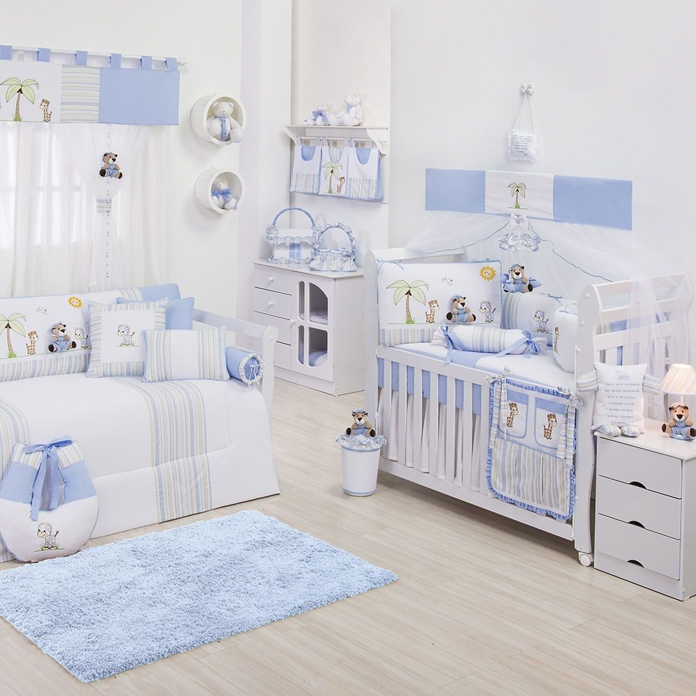 O Quarto Para Beb Selva Azul Uma Alternativa Criativa Para Usar  ~ Diy Decoração Quarto Pequeno E Nichos No Quarto Do Bebe