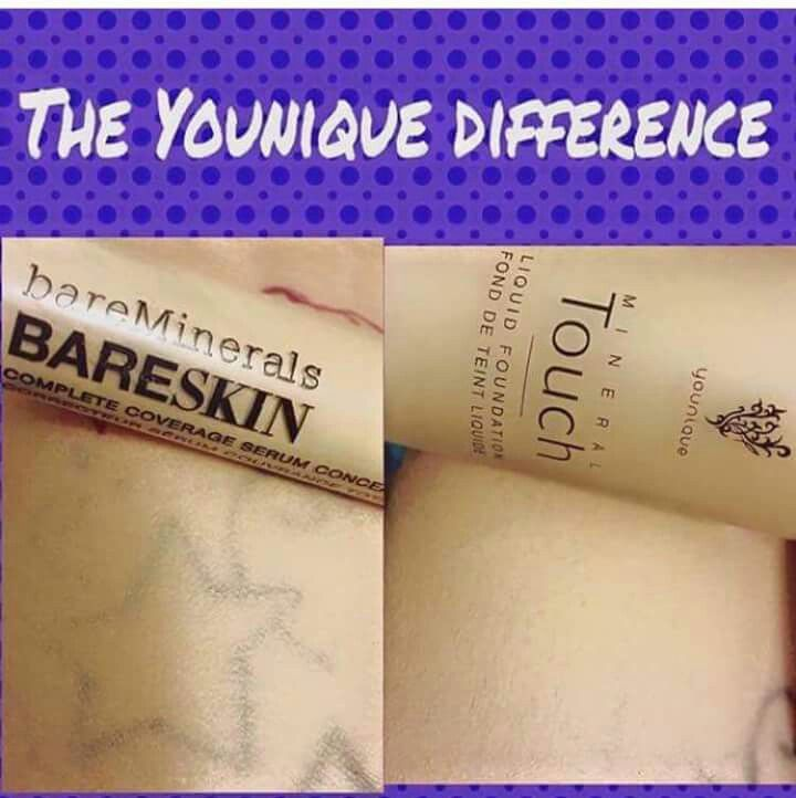 Younique Liquid Foundation Is Not Designed As A Tattoo
