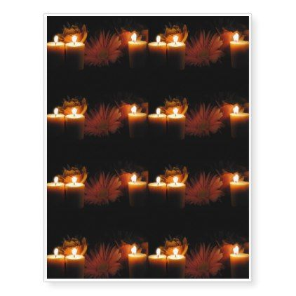 Photo of Flames Temporary Tattoos | Zazzle