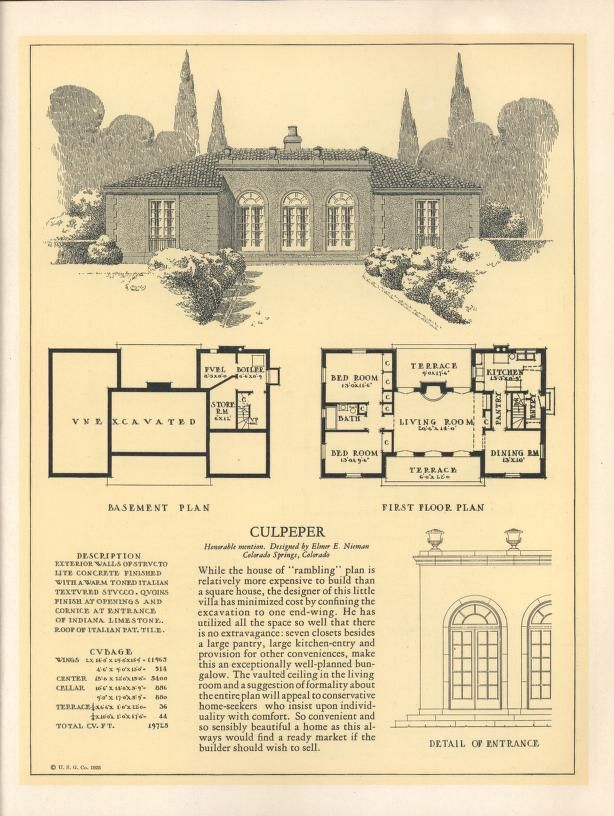 Older Homes Floor Plans For Year on