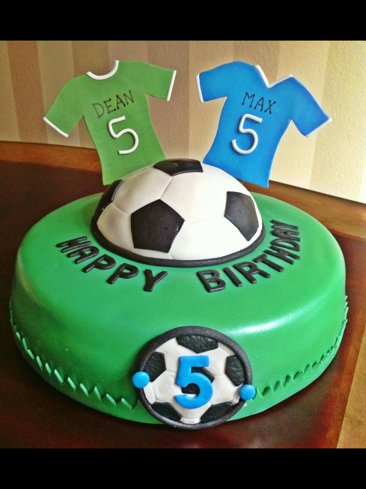 Too Sweeties Bake Shoppe Soccer birthday cake Too Sweeties