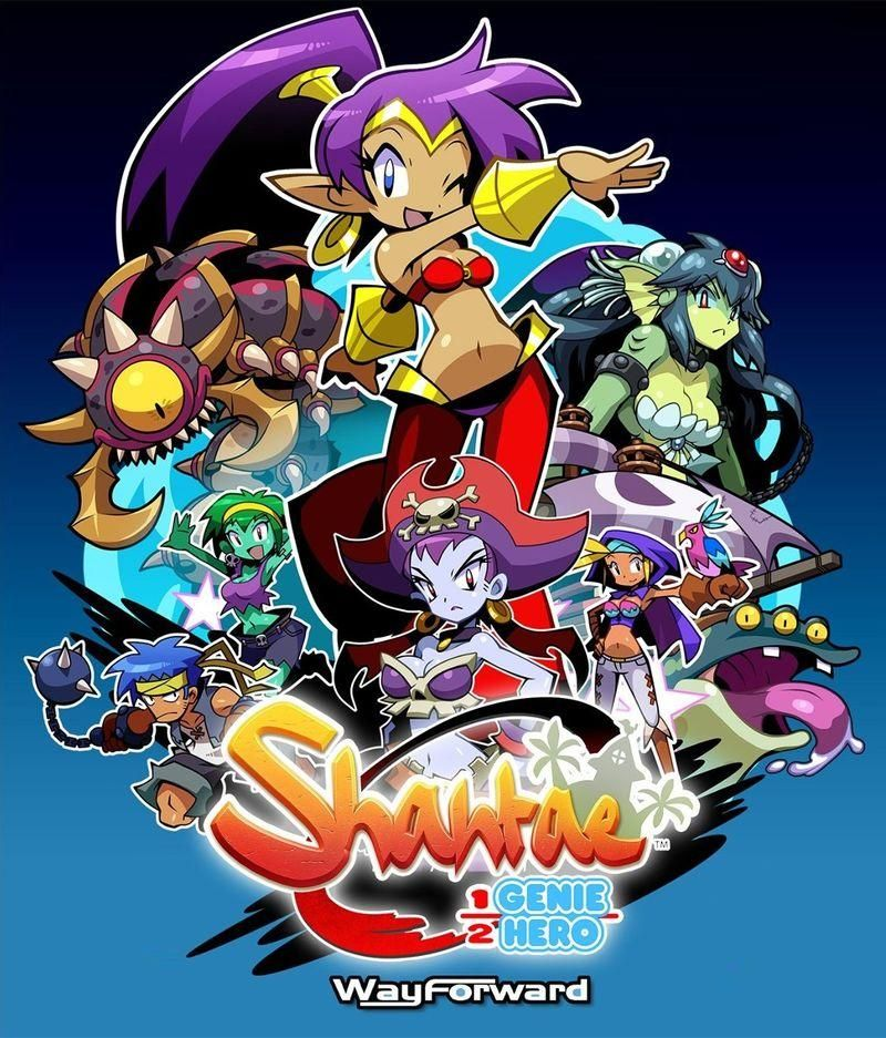 Shantae HalfGenie Hero (PC) Hero, Cloud save, Playstation
