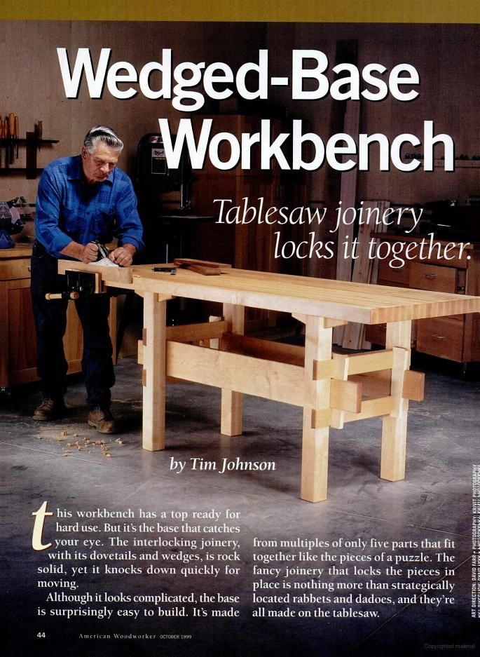 American Woodworker Google Books Woodworking Workbench Woodworking Table