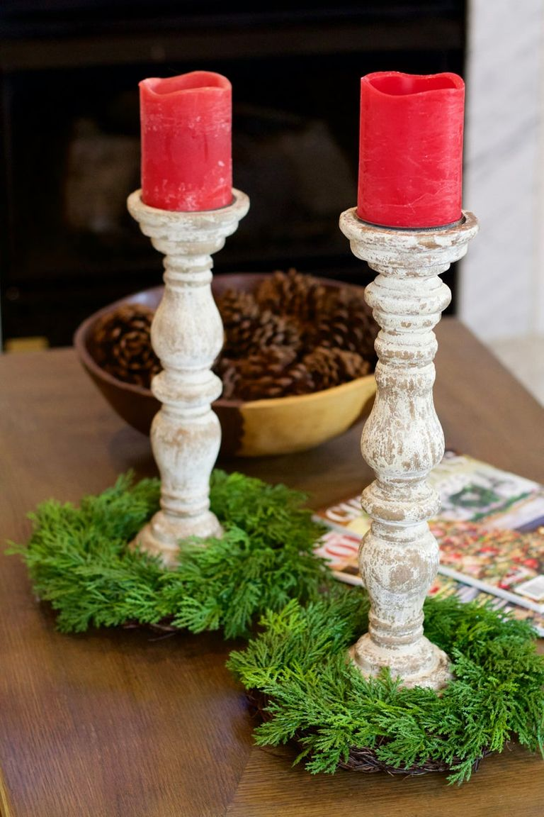 These Cozy Christmas Candle Rings Will Make Your Spirits ...